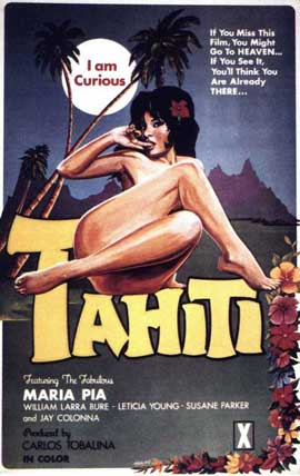 I Am Curious Tahiti - 11 x 17 Movie Poster - Style A