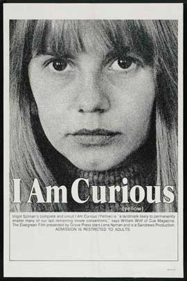 I Am Curious (Yellow) - 11 x 17 Movie Poster - Style B