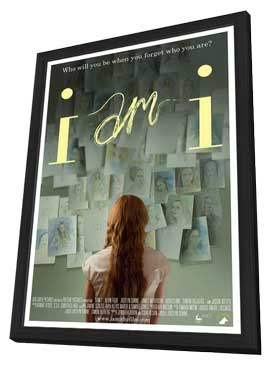 I am I - 11 x 17 Movie Poster - Style A - in Deluxe Wood Frame