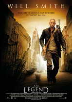 I Am Legend - 27 x 40 Movie Poster - German Style B