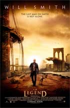 I Am Legend - 11 x 17 Movie Poster - Style A - Double Sided