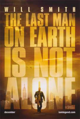 I Am Legend - 27 x 40 Movie Poster - Style A