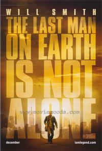 I Am Legend - 43 x 62 Movie Poster - Bus Shelter Style A