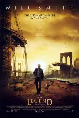 I Am Legend - 27 x 40 Movie Poster