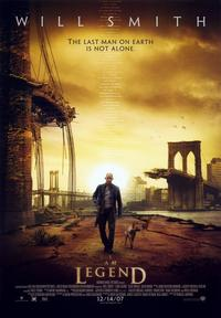 I Am Legend - 43 x 62 Movie Poster - Bus Shelter Style B