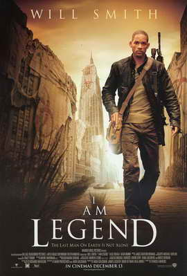 I Am Legend - 11 x 17 Movie Poster - Style C
