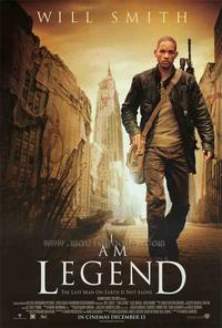 I Am Legend - 43 x 62 Movie Poster - Bus Shelter Style C