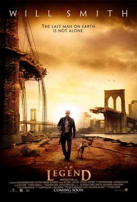 I Am Legend - 11 x 17 Movie Poster - Australian Style A