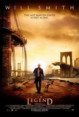 I Am Legend - 27 x 40 Movie Poster - Australian Style A