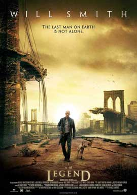 I Am Legend - 11 x 17 Movie Poster - UK Style A