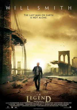 I Am Legend - 27 x 40 Movie Poster - UK Style A