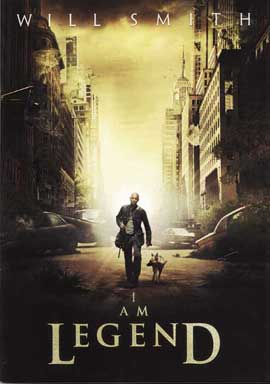 I Am Legend - 11 x 17 Movie Poster - Style E