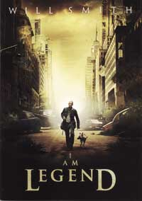 I Am Legend - 43 x 62 Movie Poster - Bus Shelter Style D