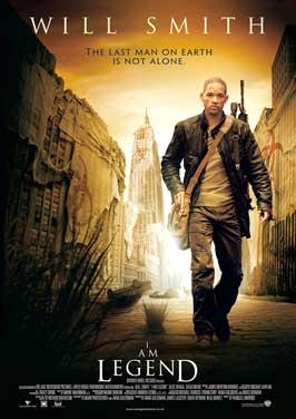 I Am Legend - 11 x 17 Movie Poster - UK Style B