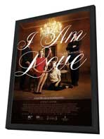 I Am Love - 11 x 17 Movie Poster - Style A - in Deluxe Wood Frame