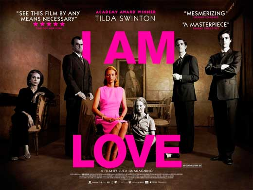 Movie Posters 2009: I Am Love Movie Posters From Movie Poster Shop