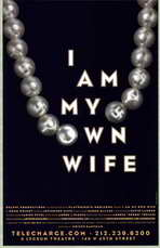 I Am My Own Wife (stage play) - 11 x 17 Poster - Style A