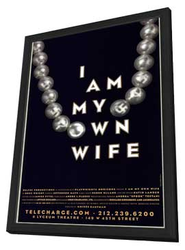 I Am My Own Wife (stage play) - 11 x 17 Poster - Style A - in Deluxe Wood Frame