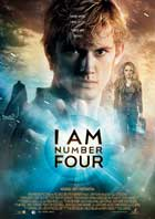 I Am Number Four - 27 x 40 Movie Poster - Style F