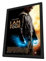 I Am Number Four - 11 x 17 Movie Poster - Style B - in Deluxe Wood Frame