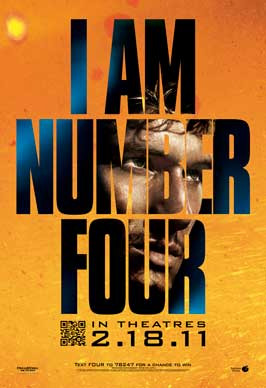 I Am Number Four - 11 x 17 Movie Poster - Style A