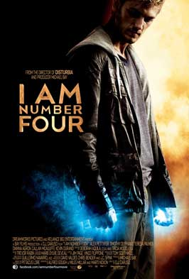I Am Number Four - 11 x 17 Movie Poster - UK Style A