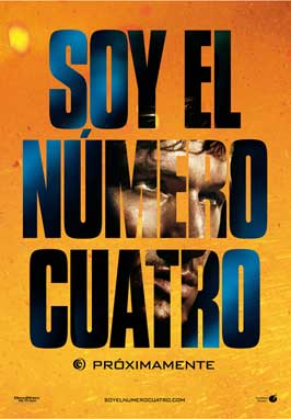 I Am Number Four - 11 x 17 Movie Poster - Spanish Style A
