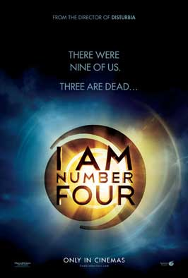 I Am Number Four - 27 x 40 Movie Poster - Style C