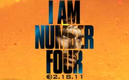 I Am Number Four - 11 x 17 Movie Poster - Style D