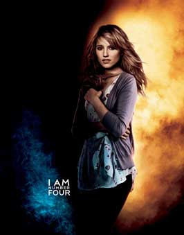 I Am Number Four - 27 x 40 Movie Poster - Style D