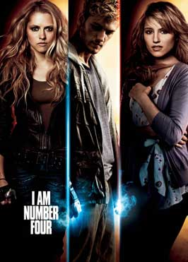 I Am Number Four - 27 x 40 Movie Poster - Style E