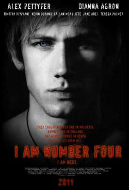 I Am Number Four - 11 x 17 Movie Poster - Style K