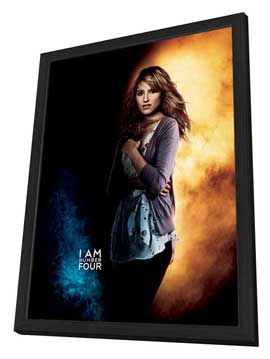 I Am Number Four - 27 x 40 Movie Poster - Style D - in Deluxe Wood Frame