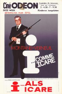 I as in Icarus - 11 x 17 Movie Poster - Belgian Style A