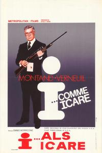 I as in Icarus - 27 x 40 Movie Poster - Belgian Style A