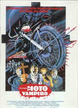 I Bought a Vampire Motorcycle - 11 x 17 Movie Poster - Spanish Style A