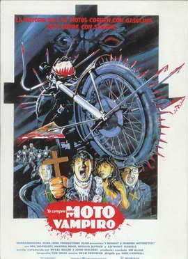 I Bought a Vampire Motorcycle - 27 x 40 Movie Poster - Spanish Style A