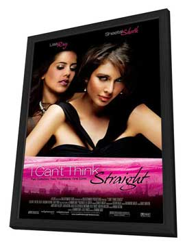 I Can't Think Straight - 27 x 40 Movie Poster - Style A - in Deluxe Wood Frame