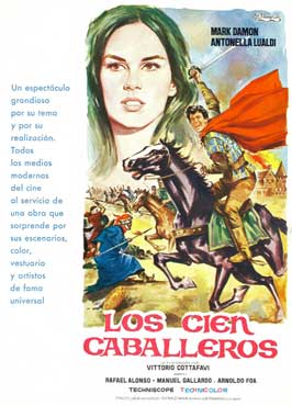 I cento cavalieri - 11 x 17 Movie Poster - Spanish Style A