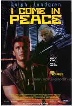 I Come in Peace - 11 x 17 Movie Poster - Style B