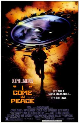 I Come in Peace - 11 x 17 Movie Poster - Style A