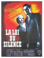 I Confess - 27 x 40 Movie Poster - French Style B