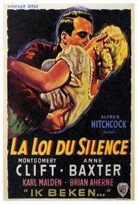 I Confess - 27 x 40 Movie Poster - Foreign - Style A