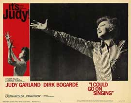 I Could Go on Singing - 11 x 14 Movie Poster - Style A