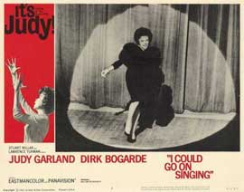I Could Go on Singing - 11 x 14 Movie Poster - Style C