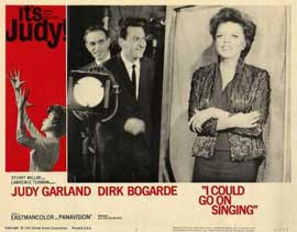 I Could Go on Singing - 11 x 14 Movie Poster - Style E