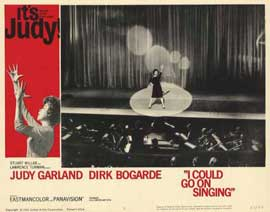 I Could Go on Singing - 11 x 14 Movie Poster - Style G