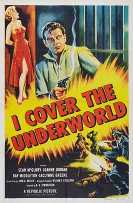 I Cover the Underworld - 11 x 17 Movie Poster - Style A