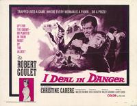 I Deal In Danger - 11 x 14 Movie Poster - Style A