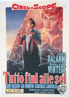 I Died a Thousand Times - 11 x 17 Movie Poster - Italian Style B